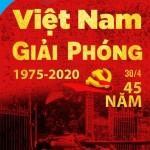 PSD Poster Giải Phóng 30-4