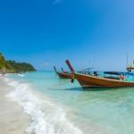 Stock ảnh thuyền và biển