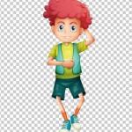 Tách nền Cậu bé phong cách