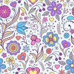 Vector hoa văn nền màu sắc