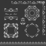 Vector hoa văn họa tiết đẹp 11