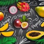 Vector trái cây rau củ quả 33