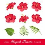 Vector hoa lá cành đẹp 58