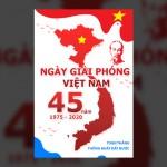 PSD Poster Kỷ Niệm Ngày Giải Phóng 30-4