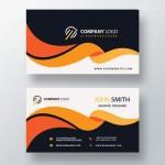 Vector Name Card nghệ thuật 3