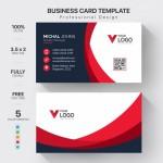 Vector Name Card đơn giản 12