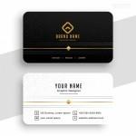 Vector Name Card tinh tế 1