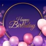 Vector trang trí sinh nhật 2