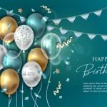 Vector trang trí sinh nhật 11