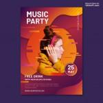Vector Poster âm nhạc 1