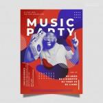 Vector Poster âm nhạc 4