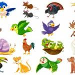 Vector động vật hoạt hình 1