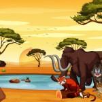 Vector động vật hoạt hình 2