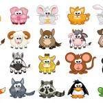 Vector động vật hoạt hình 4