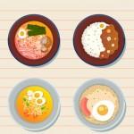 Món ăn đồ ăn ngon Vector 1