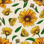 Hoa hướng dương vector đẹp 27