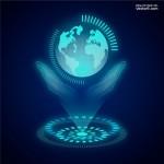 Công nghệ kết nối thế giới Vector