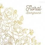 Hình nền hoa hồng đẹp vector 2