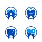 Biểu tượng Logo răng miệng 2