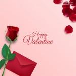 Vector hoa hồng thiệp valentine