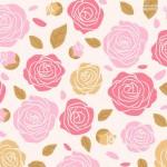 Vector hình nền hoa hồng thắm 2