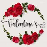 Vector hoa hồng valentine đẹp