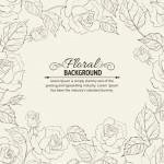 Vector bông hoa hồng trang trí 4