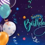 Vector sinh nhật bóng bay