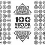 Vector vòng tròn họa tiết đẹp