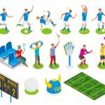 Vector cầu thủ bóng đá #09