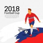 Vector cầu thủ bóng đá #13