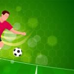 Vector cầu thủ bóng đá #14