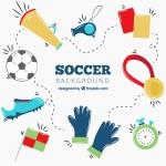 Vector dụng cụ bóng đá
