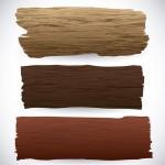 Vector miếng gỗ các loại vân