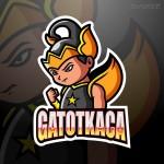 Logo Mascot bắt mắt Vector 6
