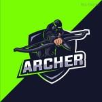 Logo Mascot bắt mắt Vector 11