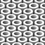 Nền hình tròn ống Vector #14