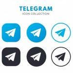 Biểu Tượng Telegram Vector