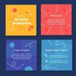 Mẹo Sưu Tập Bài Đăng Trên Instagram Vector