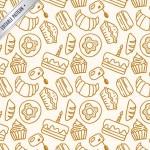 Mô Hình Sản Phẩm Bánh Bằng Tay Vector