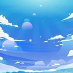 Sky – Nền Cho Hội Nghị Truyền Hình Vector