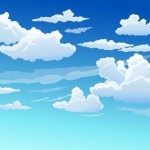 Trời Xanh Mây Trắng Trời Quang Mây Tạnh Vector