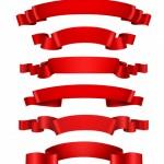 Ruy Băng Đỏ Trang Trí, Tải Vector