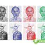 Hình Ảnh Chủ Tịch Hồ Chí Minh Và Đại Tướng Võ Nguyên Giáp, Thiết Kế Corel