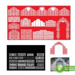 Corel Vector Cổng Rạp Cưới Trang Trí Đẹp