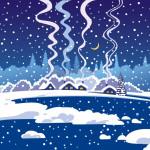 Vector Khung Cảnh Mùa Giáng Sinh An Lành 01