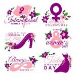 Mừng Ngày Quốc Tế Phụ Nữ 8-3, Thiết Kế Tổng Hợp Vector 046
