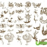 Cách Điệu Chim Phượng Hoàng, Thiết Kế Corel Vector 2