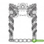 Cổng Rồng, Cột Rồng Corel Vector