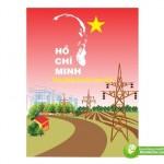 Tranh Cổ Động Bác Hồ, Chủ Tịch Hồ Chí Minh, Vector Corel